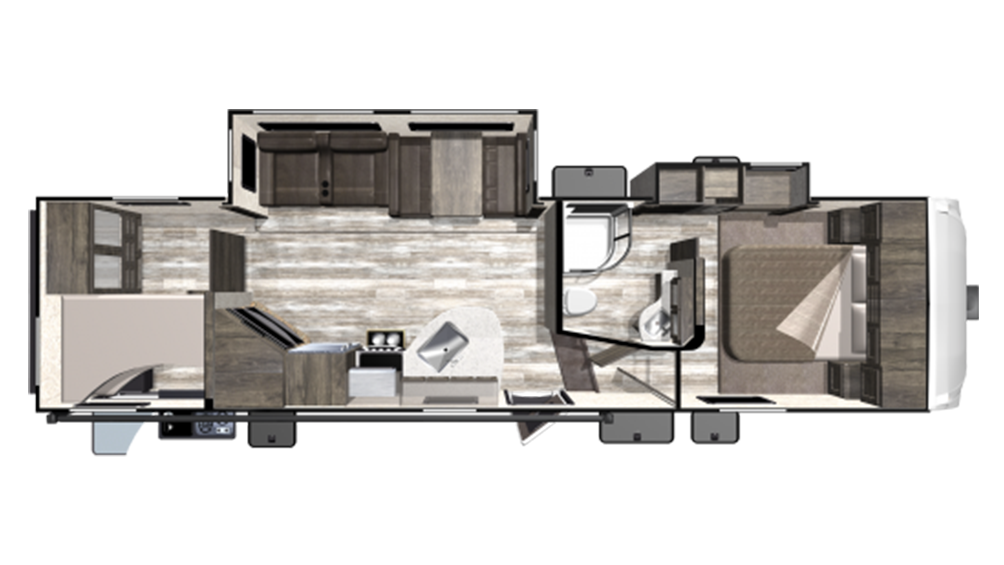 2019 Mesa Ridge Limited MF295BHS Floor Plan Img