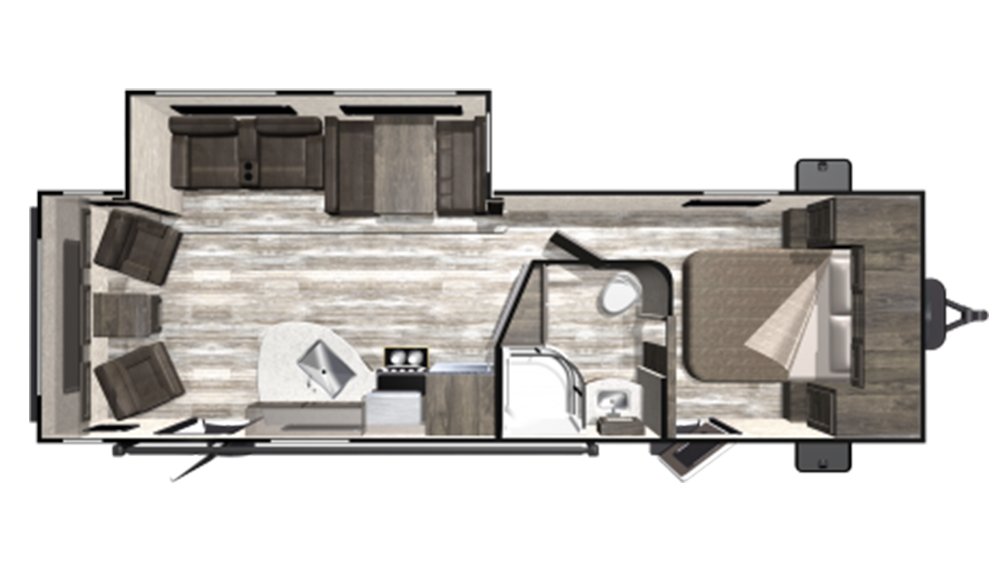 2019 Mesa Ridge Limited MR271RLS Floor Plan Img