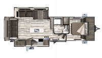 2019 Mesa Ridge Limited MR275RLS Floor Plan