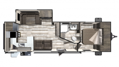 2019 Mesa Ridge Limited MR280RKS Floor Plan Img