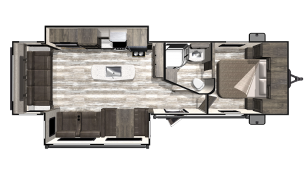 2019 Mesa Ridge Limited MR291RLS Floor Plan Img