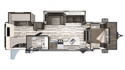 2019 Mesa Ridge Limited MR311BHS Floor Plan Img