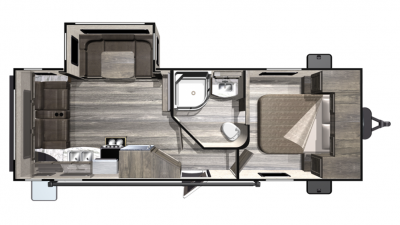 2019 Mesa Ridge Lite MR2410RL Floor Plan Img
