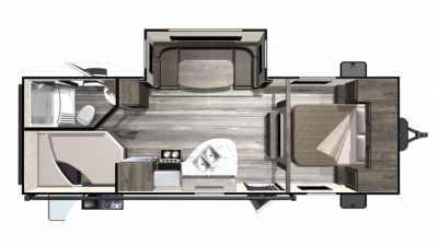 2019 Mesa Ridge Lite MR2504BH Floor Plan Img