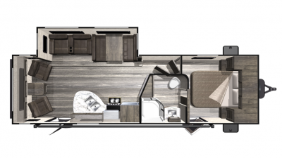 2019 Mesa Ridge Lite MR2710RL Floor Plan Img