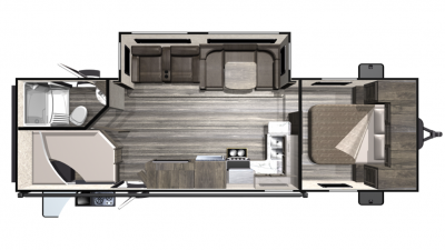 2019 Mesa Ridge Lite MR2802BH Floor Plan Img