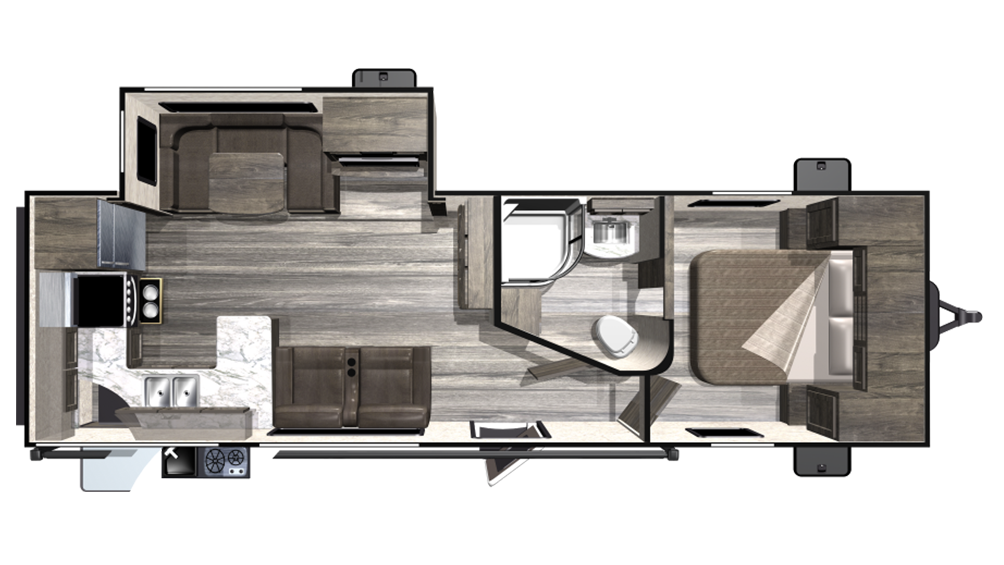 2019 Mesa Ridge Lite MR2804RK Floor Plan Img
