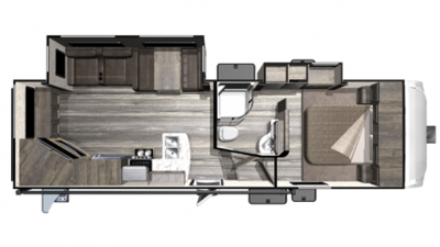 2019 Mesa Ridge Lite MF2502RE Floor Plan Img