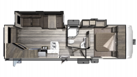 2019 Mesa Ridge Lite MF2502RE Floor Plan