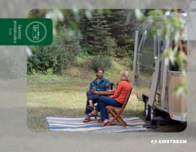 2019 Airstream Airstream International Serenity RV Brochure Cover