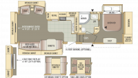 2010 Eagle 321RLTS Floor Plan