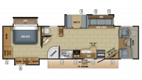 2018 Seneca 37HJ Floor Plan
