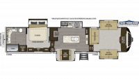2019 Alpine 3711KP Floor Plan