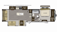 2019 Avalanche 321RS Floor Plan