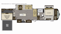 2019 Avalanche 386BG Floor Plan