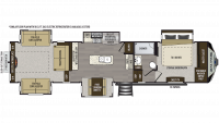 2019 Avalanche 376RD Floor Plan