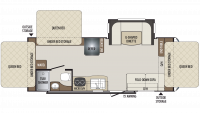 2019 Bullet Crossfire 2190EX Floor Plan