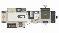 2019 Laredo 325RL Floor Plan