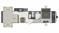 2019 Laredo 342RD Floor Plan