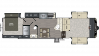 2019 Laredo 340FL Floor Plan