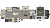 2019 Laredo 380MB Floor Plan