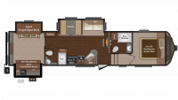 2015 Sprinter 343FWBHS Floor Plan