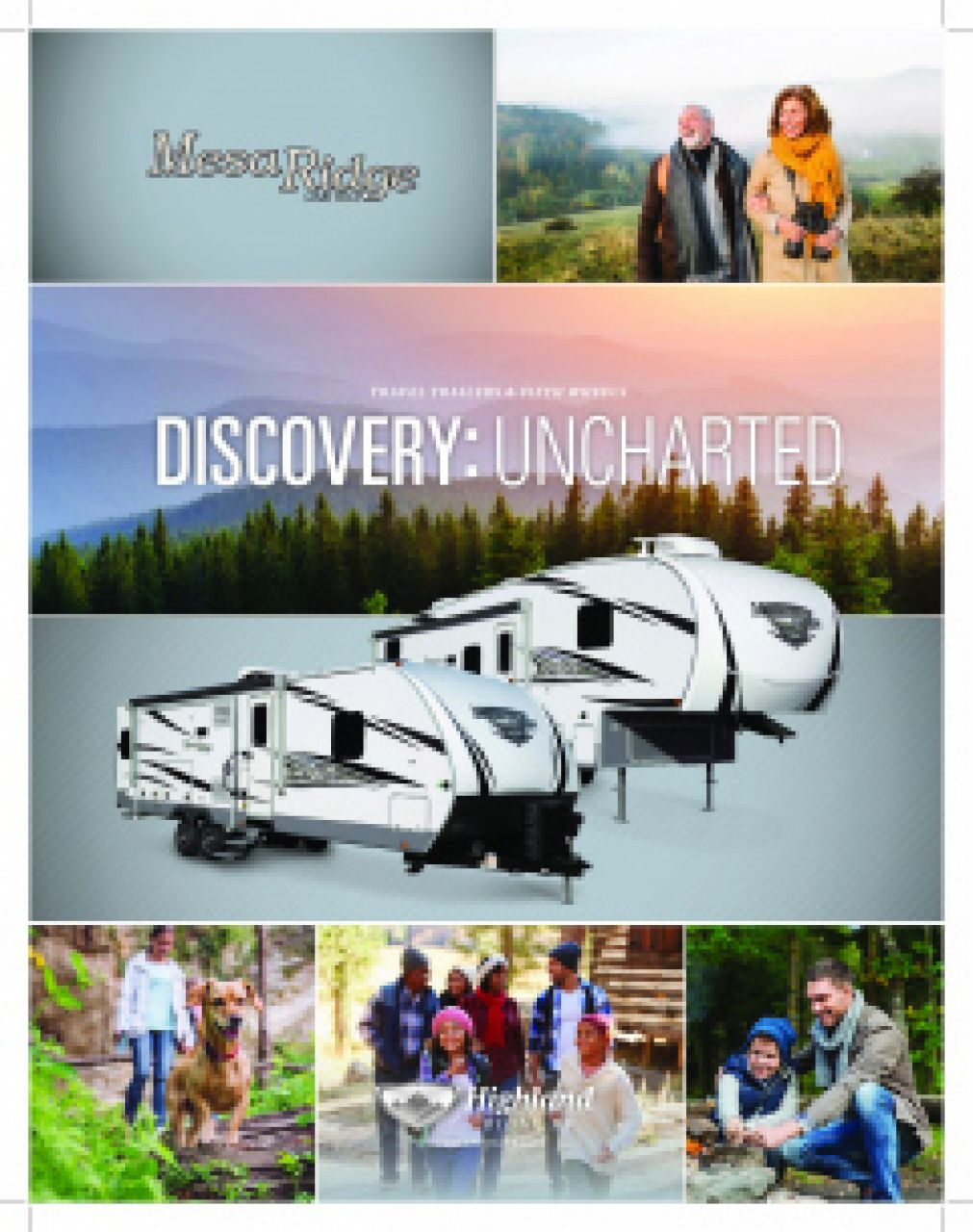 2019 Highland Ridge Mesa Ridge Limited RV Brochure Cover