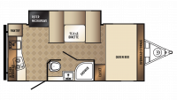 2018 PaloMini 178RK Floor Plan