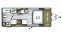 2019 PaloMini 180FB Floor Plan