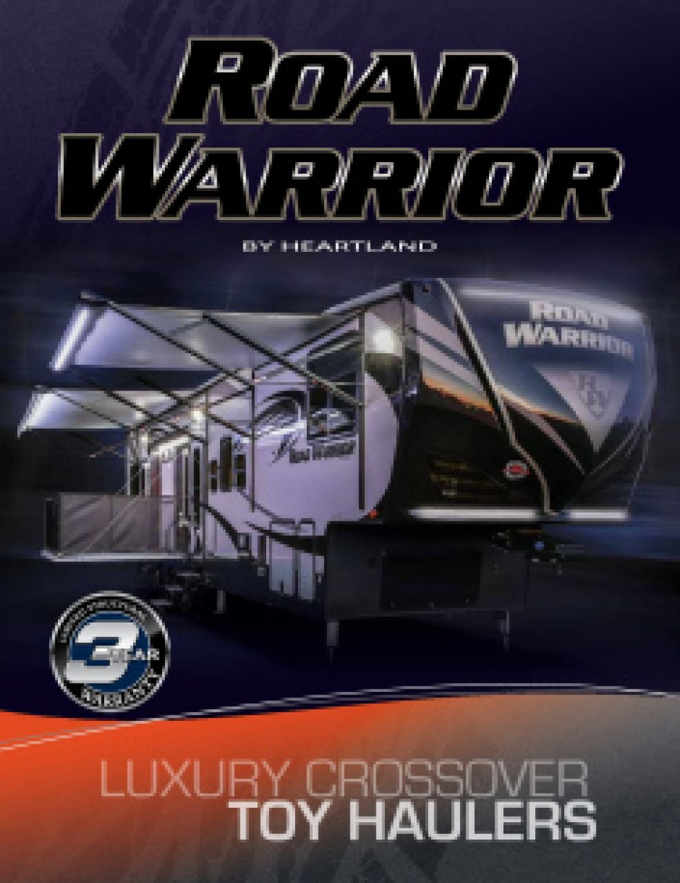 2019 Heartland Road Warrior RV Brochure Cover