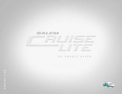 2019 Forest River Salem Cruise Lite RV Brochure Cover