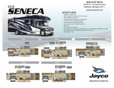 2018 Seneca Flyer Cover