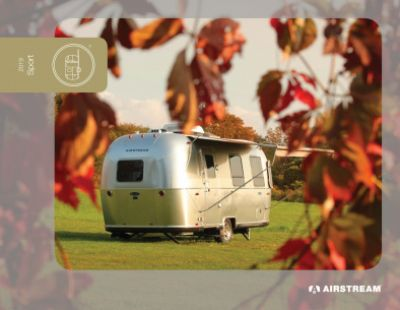 2019 Airstream Airstream Sport RV Brochure Cover