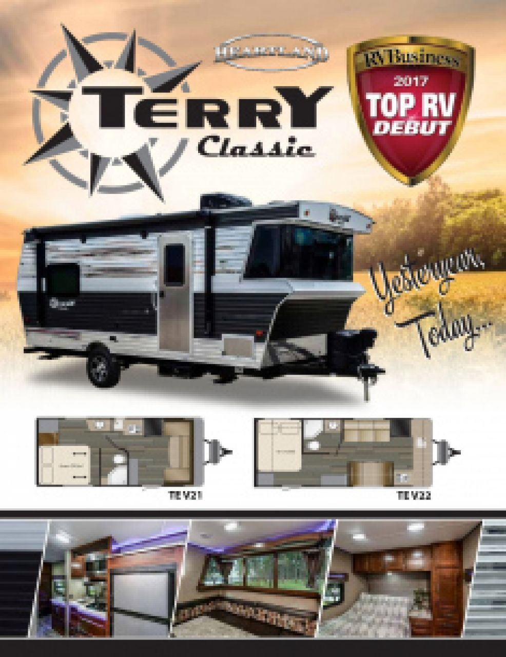 2019 Heartland Terry Classic RV Brochure Cover