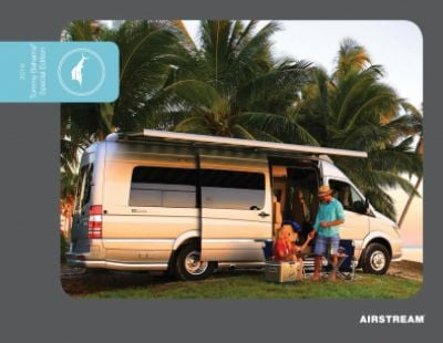 2019 Airstream Airstream Tommy Bahama Interstate RV Brochure Cover