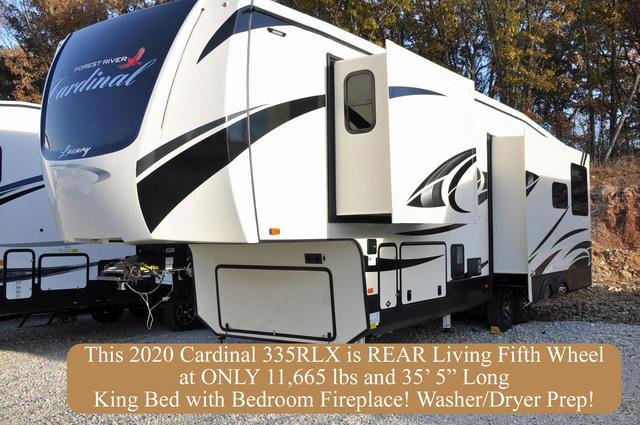 2020 Cardinal Luxury 335RLX
