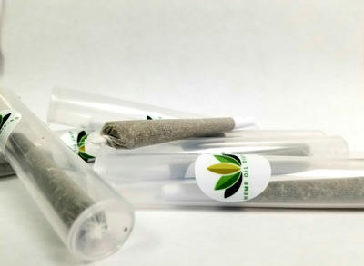 CBGA Rich Hemp Flower Pre-Roll 5 pack