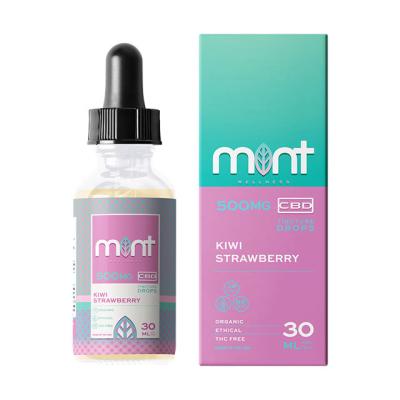 Mint Wellness Kiwi Strawberry Tincture Drops