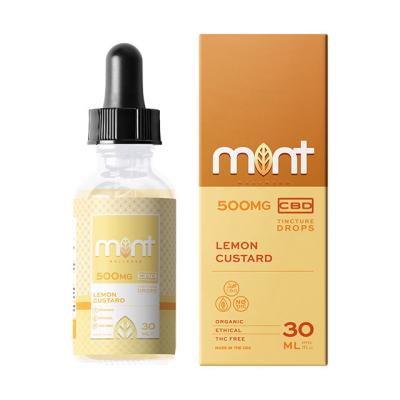 Mint Wellness Lemon Custard Tincture Drops