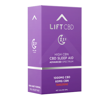 Lift  ZZZ Sleep CBD/CBN Tangerine Tincture