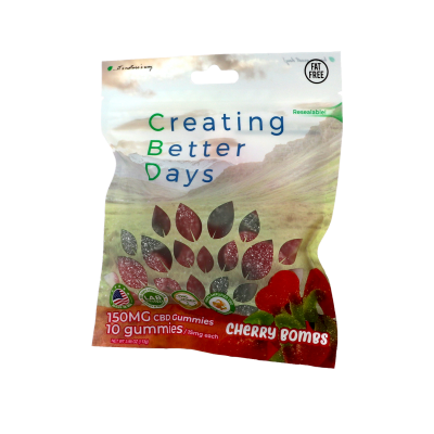 Nano-CBD Gummies Cherry Bomb Retail Only