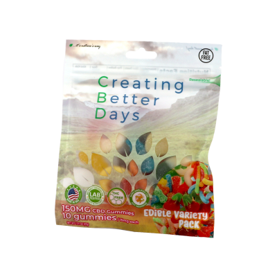 Nano-CBD Sour Gummies Variety Pack Retail Only