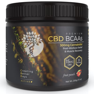 CBD BCAAs Fruit Punch - 300mg