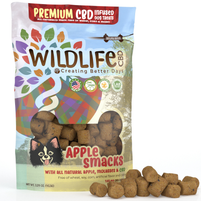 Nano-CBD Premium Dog Treats - Apple Smacks 150mg