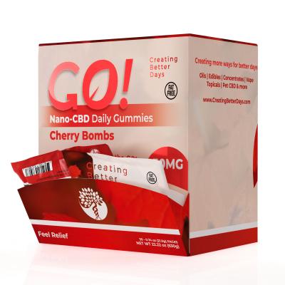 Go! Nano-CBD Gummies 30mg (case of 30)