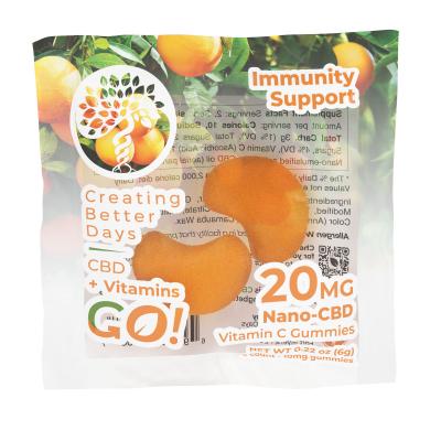 Go! Nano-CBD VitaGummies +Vitamin C 20mg (Case of 30)