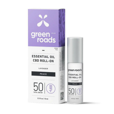 Green Roads 50mg CBD Essential Oil Roll-On (Case of 4)