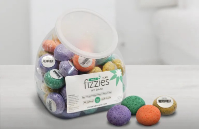 Mini Fizzies+ CBD Fish Bowl - 64 Count