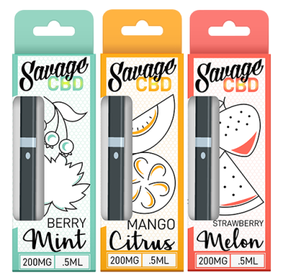 Savage CBD 200mg Disposable Pen