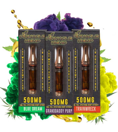 Pinnacle 500mg CBD Cartridge 1mL